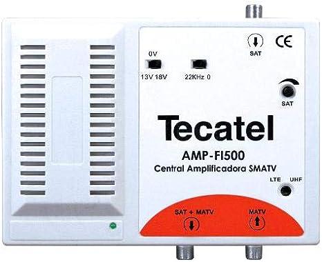Tecatel amplificacion - Amplificador fi 35db 13/18v lte