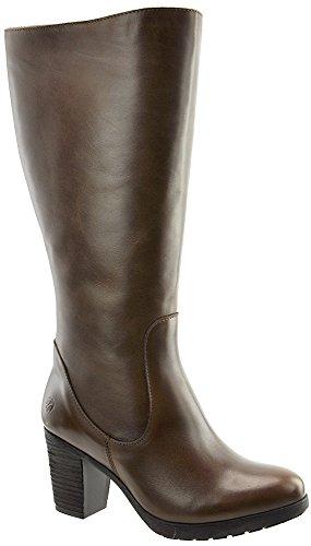 JJ Footwear Damen Stiefel Leder Potton M/L Cognac Street 37