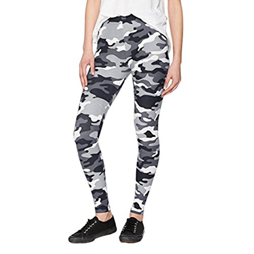 Price comparison product image Hunzed Women Yoga Pants, { Athletic Sports Yoga Trousers } { Gym Workout Yoga Leggings } Casual { Running Yoga Elastic Pants } For Ladies (White, M)
