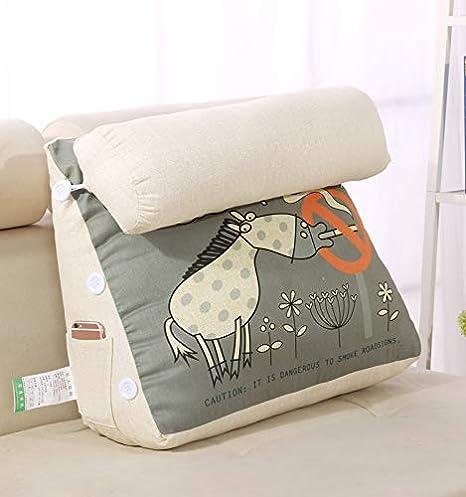OAMORE - Cojín Lumbar para la Espalda, el Cuello, Las piernas, el hogar, el sofá, la Cama, la decoración del Coche con múltiples Funciones (Código, L)