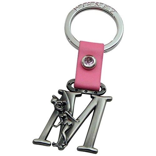 (Tinker Bell Letter M Pewter Key Chain)