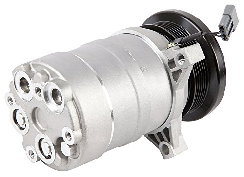 Brand New Premium Quality Ac A/C Compressor & Clutch For Hummer H1 & Chevy Van - BuyAutoParts 60-00902NA New