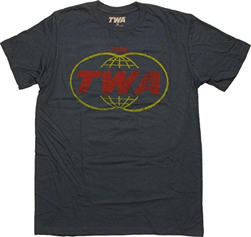 TWA Baggage Carrier T-Shirt Sheer X-Large