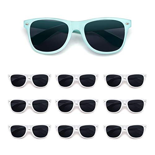 10 Pack Bride and Bridesmaid Sunglasses,Perfect for Bachelorette Party,Wedding,Bridal Party for $<!--$15.99-->