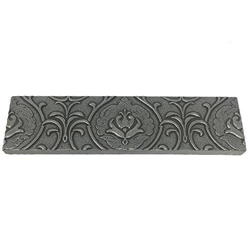 Vogue Tile Resin Pewter Metallic Look Pack of 3 Pieces 2