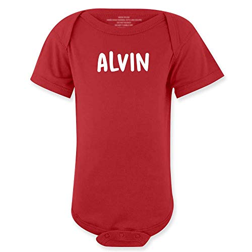 Alvinie Halloween Costume Red Kids Bodysuits