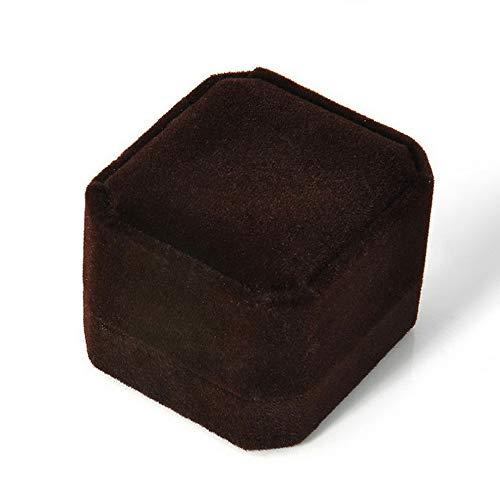 - Tomikko Velvet Earring Ring Pendant Jewelry Box Display Case Engagement Wedding Gift | Model ERRNGS - 11757 |