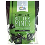 Party Sweets Dark Chocolate Buttermints by Hospitality Mints, Appx 230 mints, 4.7-Ounce Bags (Pack of 6)
