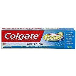 Colgate Total Whitening Anticavity and Antigingivitis Gel Toothpaste 6 oz (Pack of 2)