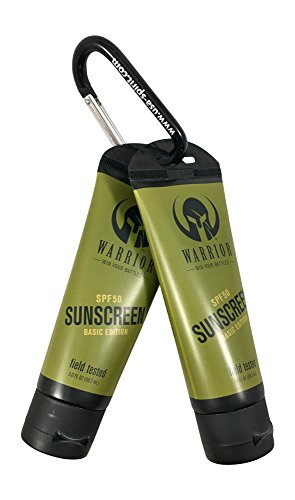 Cheap BOGO Warrior Mineral Sunscreen Oil Free Water resistant SPF 50 (BOGO) 3fl oz each