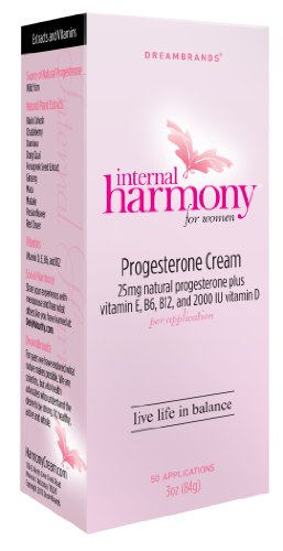 Rêve Marques interne Harmony progestérone crème, 3 once