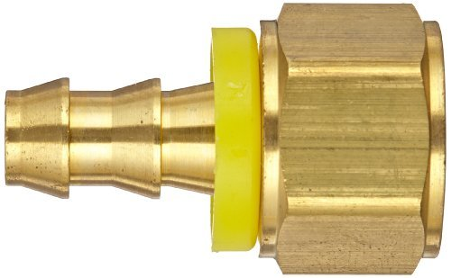 Brass 5//16 x 1//4-18 5//16 x 1//4-18 Tompkins 4315-05-04 Push-On Hose Barb Fitting Push-On Barb to Female Pipe