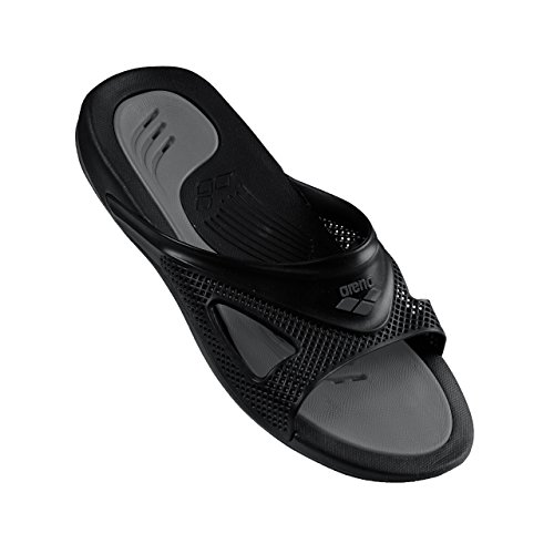Arena Hydrofit Man Box, chanclas piscina Unisex adulto Black/Black/Anthracite