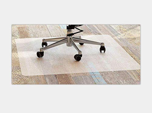 Office Chair Mat, Heavy Duty and Large Size for Home Office Desk Chair Use(16.9×23.6in)