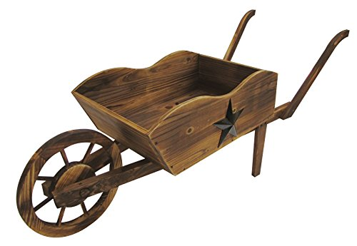 Wood Wheelbarrow - Leigh Country Wheel Barrow Planter