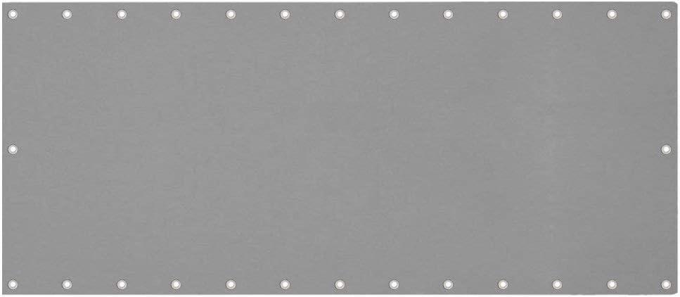 0,75 x 6 m Impermeabile Recinzione per Balcone per Privacy Aufun Schermo per Balcone Frangivista e Telo frangivento con Occhielli e Cordoncino Antracite