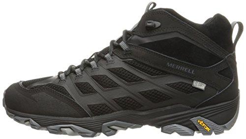 Merrell Men's Moab FST Mid Waterproof Hiking Shoe, Noire, 10 M US by Merrell (Image #5)