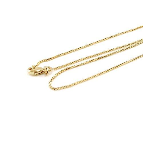 Hi-plated gold 'Venitienne' 45 cm (17.72'') 1.6 mm (0.06'').