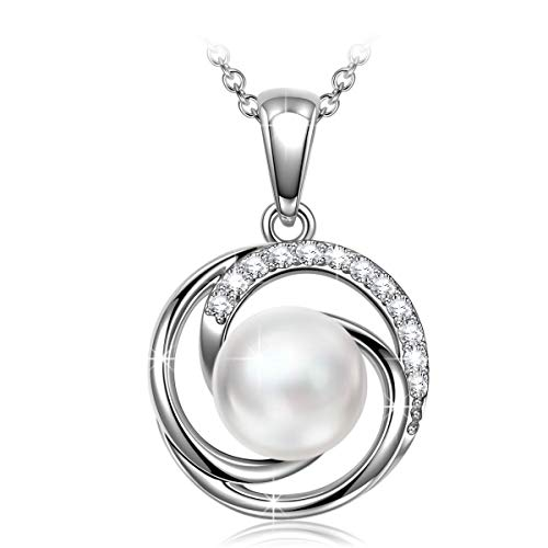 J.NINA Women Pendent Necklaces with CZ Fine Fashion Costume Jewellery Best Birthday for Her Ladies Girls Girlfriend Wife Sister Mum Mother ()