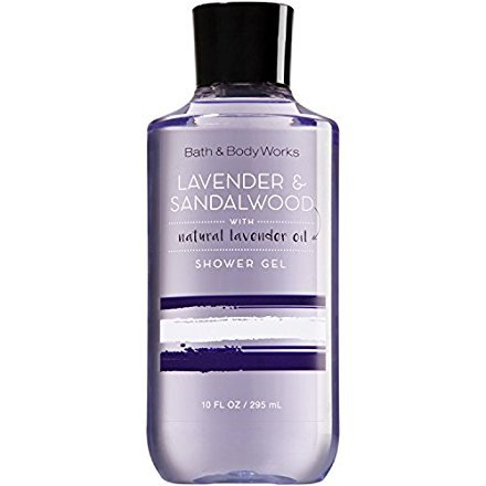 - Bath and Body Works Signature Collection Lavender & Sandalwood Shower Gel with Natural Lavender Oil