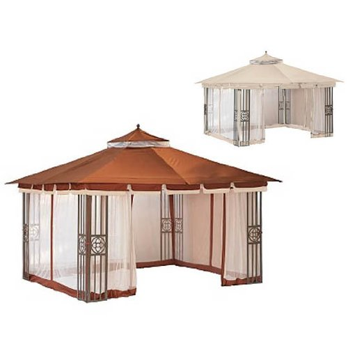 Monaco San Marino Gazebo Replacement Canopy – RipLock 350
