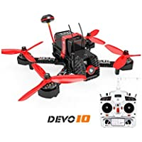 Walkera Furious 215 215mm F3 5.8G 600TVL Camera 8CH RTF Multirotor RC Toys FPV Racing Drone With Devo 10 Transmitter (Basic 2)