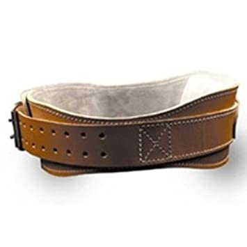 4.75 Power Leather Lifting Belt in Natural Leather Size XS 24 – 28