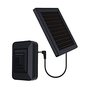 HTZSAFE Solar Wireless Radar Sensor-1/4 Mile Long Transmission Range- Up to 50 feet Wide Sensor Range-Solar Powered No Need Replace Batteries- Outdoor Weatherproof DIY Security Perimeter Alarm Sensor