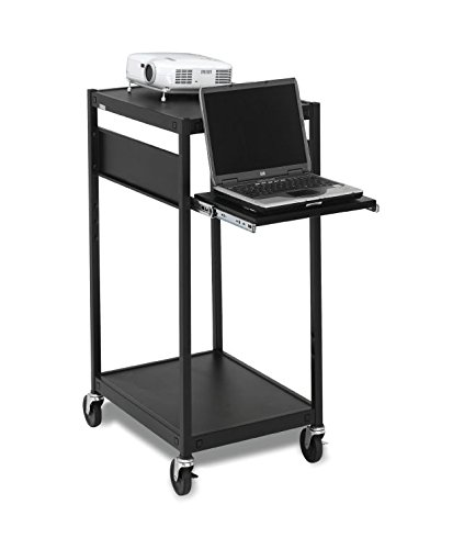 Bretford ECILS2M-BK NB Data Projector Cart with Electrical Unit by Bretford