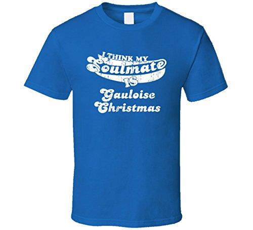 my-soulmate-gauloise-christmas-belgium-beer-drink-worn-look-t-shirt-s-royal-blue
