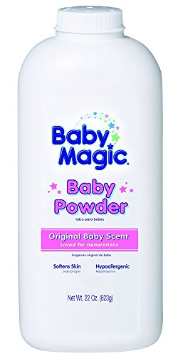 Baby Magic Baby Powder, 22 Ounce (Pack of 3)