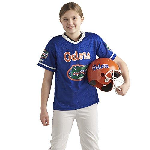 Franklin Sports NCAA Florida Gators Deluxe Youth Team Uniform Set, Medium by Franklin Sports (Image #2)