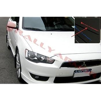 UR Black Mud Flap w// Mitsubishi Lancer doesn/'t fit Sportback Rally Armor 2007