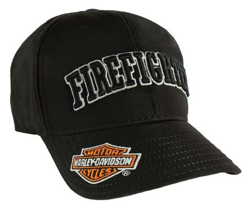 Harley Davidson Firefighter Baseball Adjustable BC126830