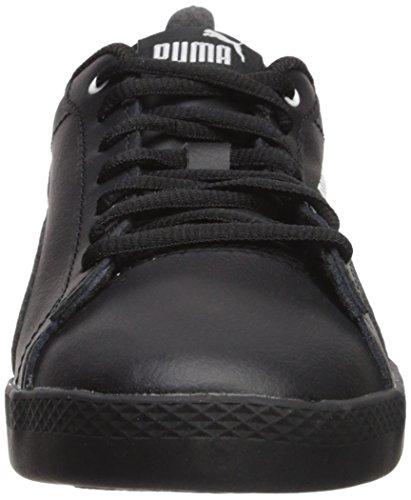 clearance store sale online PUMA Women's Smash WNS v2 Leather Sneaker Puma Black-puma Black store for sale hmZZ44OVr