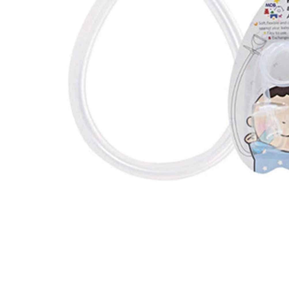 Healifty Newborn Baby Nasal Aspirator Mucus Sucker Nose Cleaner Vacuum Suction Infant Newborn Nose Cleaning Sucker