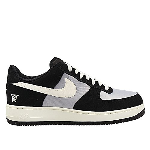 nike air force 1 mens trainers 820266 sneakers shoes (US 13, black sail wolf grey 002) - Nike Air Force Trainers