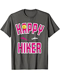 Happy hiker t-shirt for hikers and outdoors enthusiasts