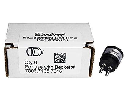 Amazon.com: Beckett 596101bu seis (6) unidades CAD celular ...