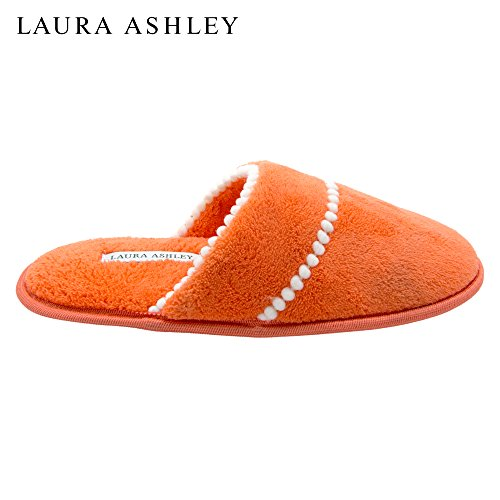 Scuff Ladies Slipper Pom Trim Sienna Soft Laura Terry Burnt Ashley nOavgqBwcY