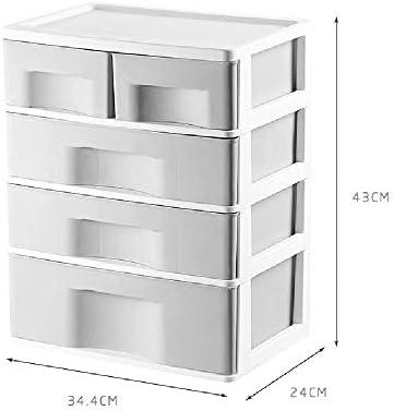 Storage Box 4 cajones,cajones de plástico,Caja de Almacenamiento ...