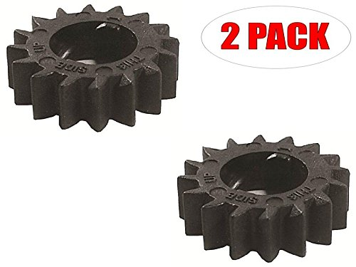 (Package of (2) Replacement Briggs & Stratton Starter Gears 695708)