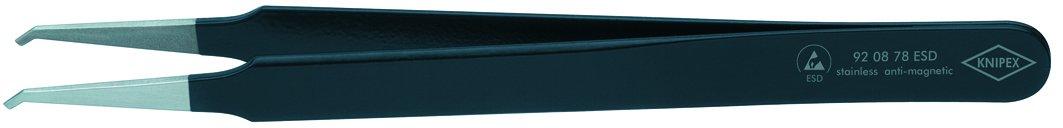 Knipex 7665050005 Pinza, Negro y metá lico, 120 mm Negro y metálico 92 08 78 ESD