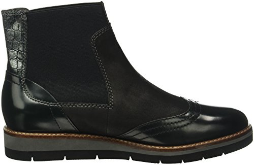 black 8 098 Tamaris Uk Ankle Women's Black Comb Black 25418 Boots rxrqvw
