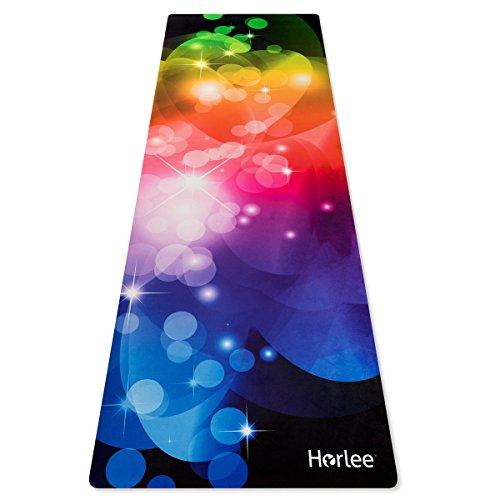 Eco Friendly Non Slip Yoga Mat, ANTI-TEAR 2-1 Premium Combo Yoga Towel + Workout Mat & Mat Strap by Horlee-24