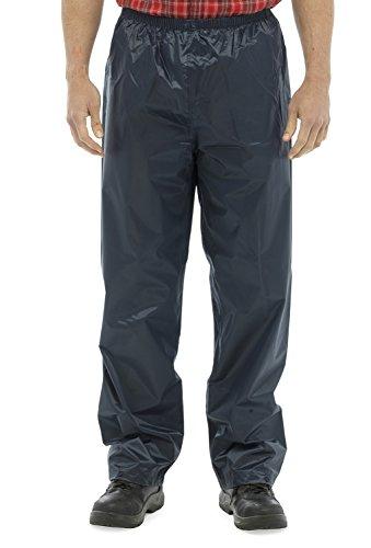 Azul ligero Marino Impreso Plain over Para impermeable RJM trousers hombre AB1TqZ8KPO
