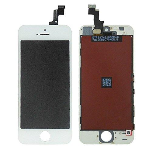 LL TRADER LCD Para iPhone SE Blanco Display Pantalla táctil Digitalizador Lentes de cristal Reemplazo + Herramientas