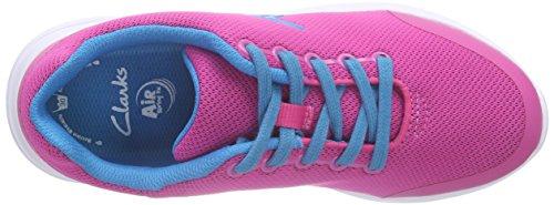 Clarks SprintZone Jnr Mädchen Sneakers Pink (Pink Combi)