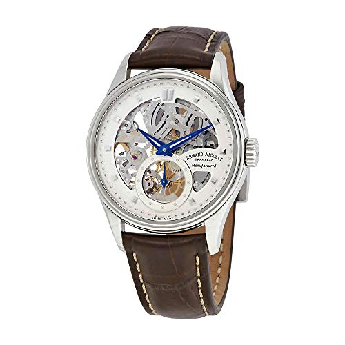 Limited Mens Skeleton Edition (Armand Nicolet Men's 9620S-AG-P713MR2 LS8 Limited Edition Skeleton Hand-Wind Watch)