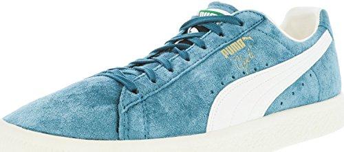 Puma Donna Cesto Classico Metallico Wns Fashion Sneaker Porto Blu / Bianco Bisbiglio